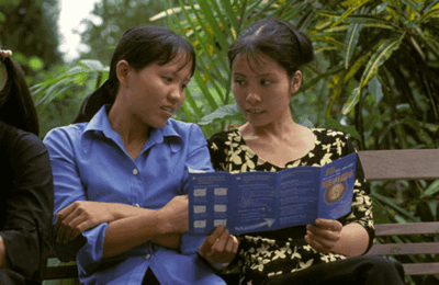 Midwife, working in Binh Duong Province, Vietnam